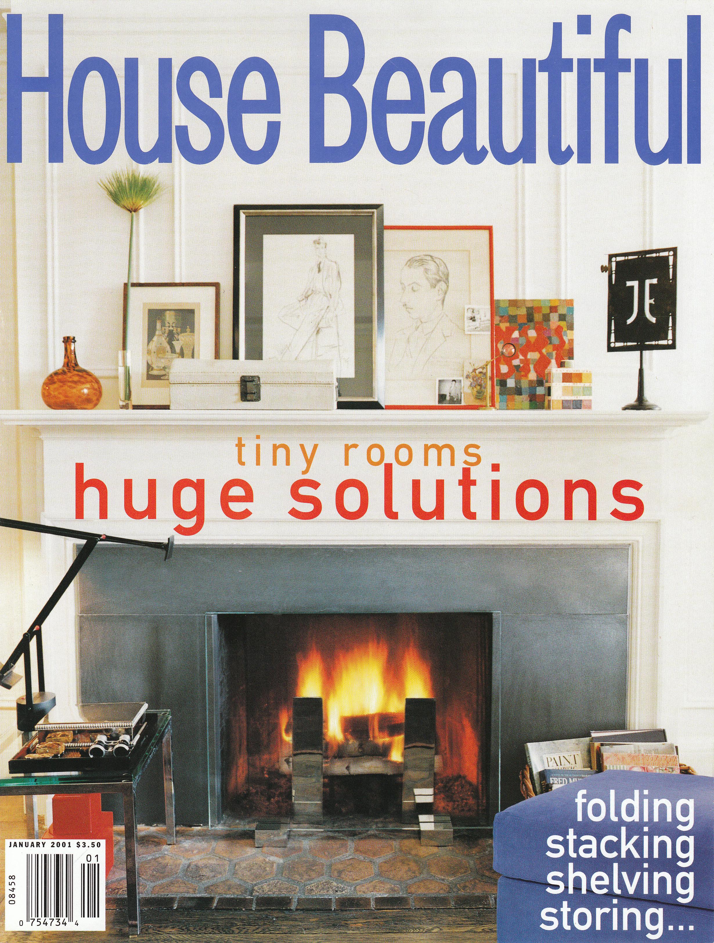 The House Beautiful studiolo furniture